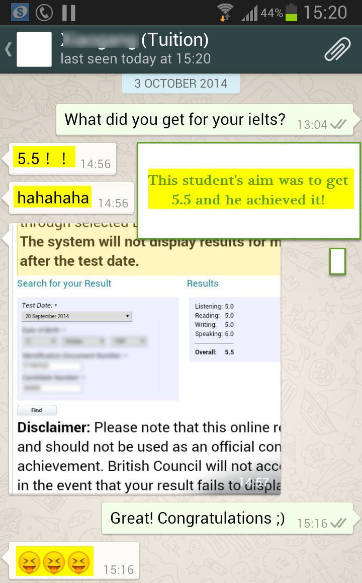how to get ielts trf number online